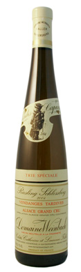 Weinbach Schlossberg Trie Speciale Grand Cru Vendanges Tardives Riesling 2004