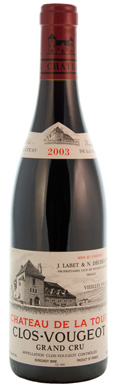 Chateau De La Tour Clos Vougeot VV Grand Cru 2003