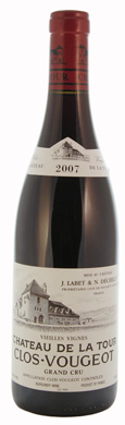 Chateau De La Tour Clos Vougeot VV Grand Cru 2007